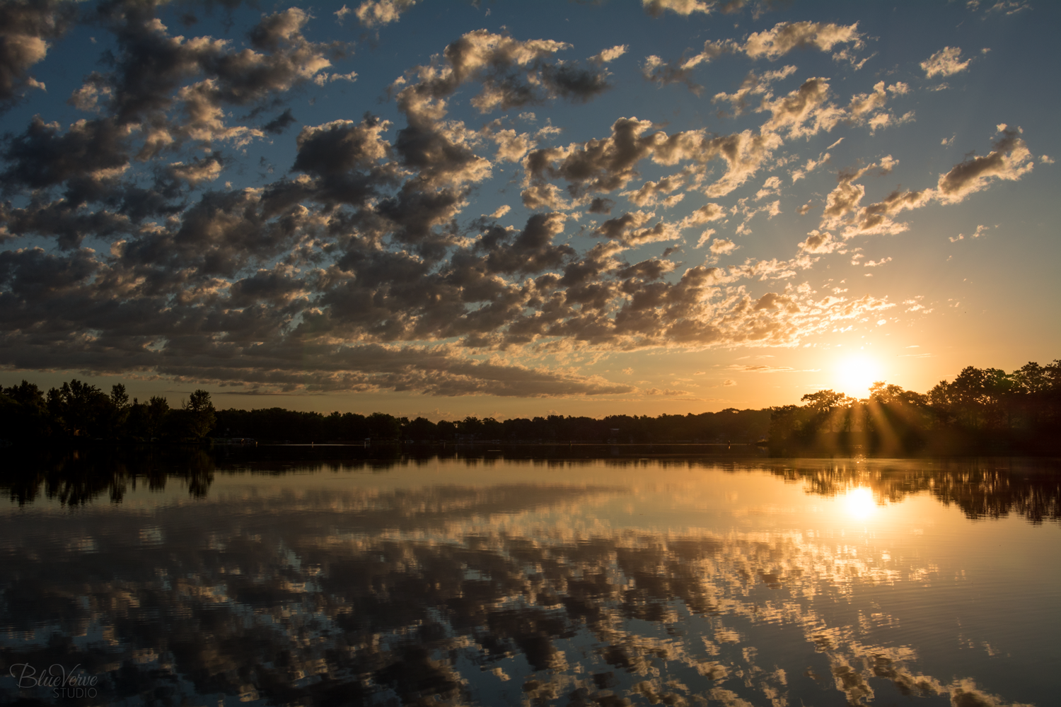 Sunrise on the Lake, Nature Photography by Jen Schildgen, Palmyra, WI