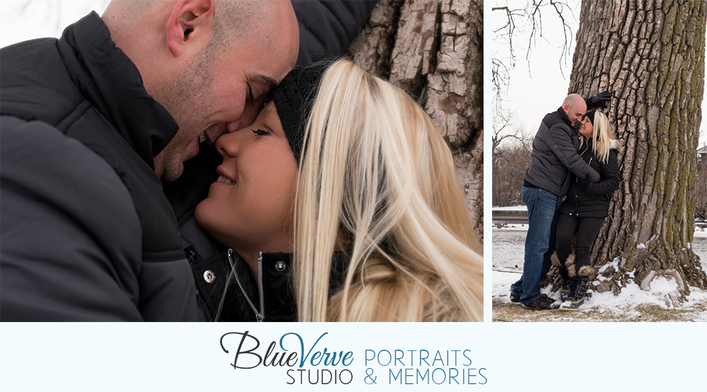 Geneva, IL Engagement Session, Island Park