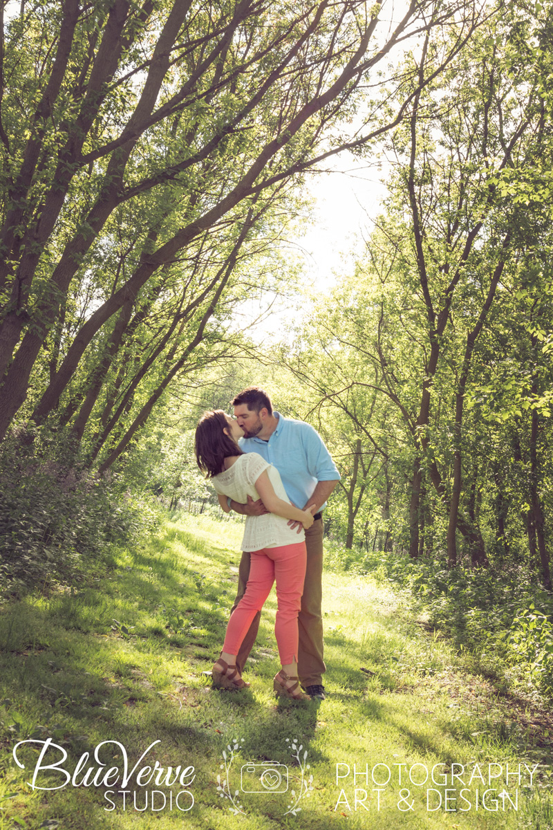 Sunny Spring Engagement Session