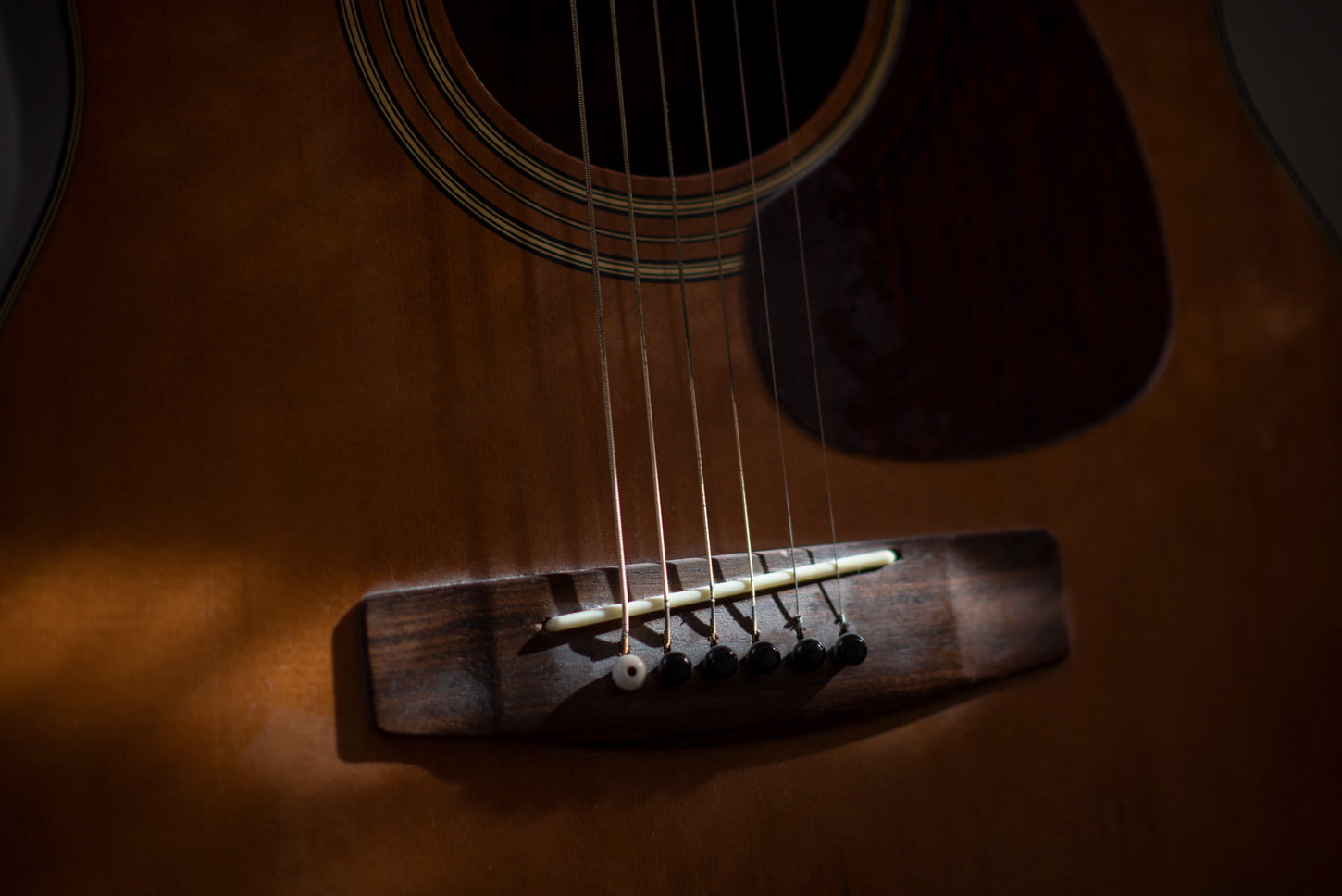 Guitar in Sunlight