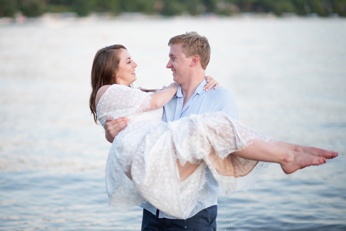 Lake Geneva Engagement Session at the Lake
