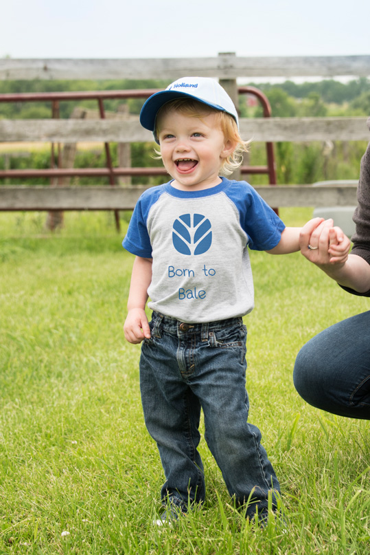 Little Boy New Holland Apparel