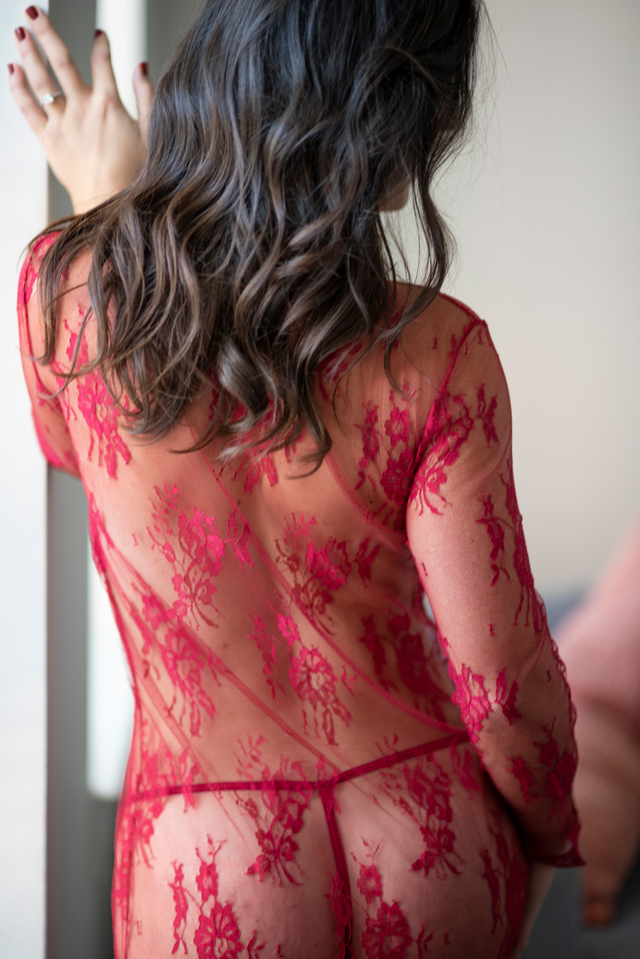 Sexy Back Boudoir Red
