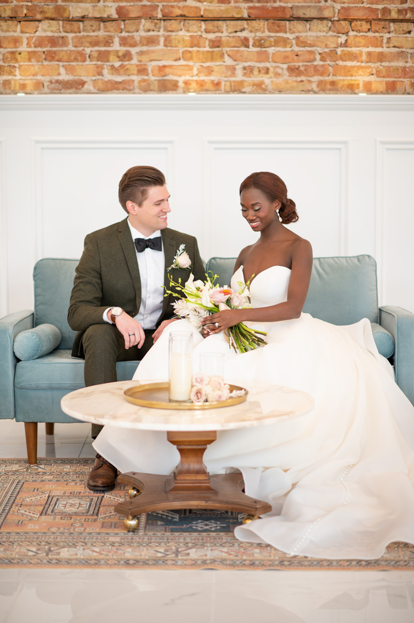 Wedding Photography by BlueVerve Studio at The Treasury in Delavan