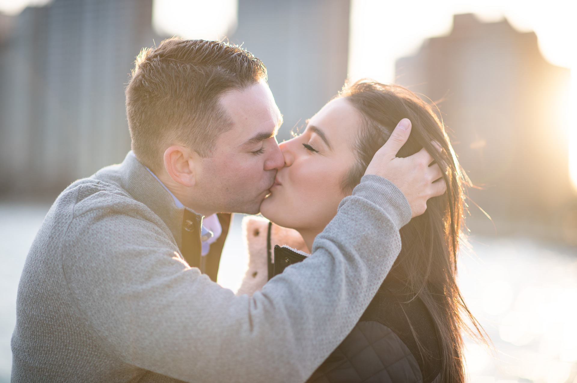 Romantic Chicago Engagement Session
